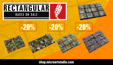 Rectangular Base Sale