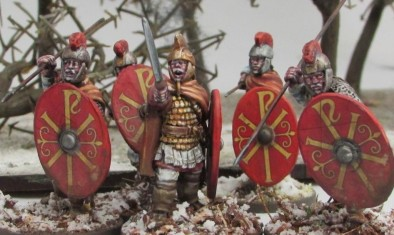 Romans In The Snow #2 by volleyfireandy