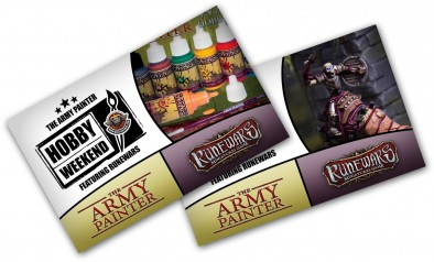 The Army Painter Hobby Weekend Tickets