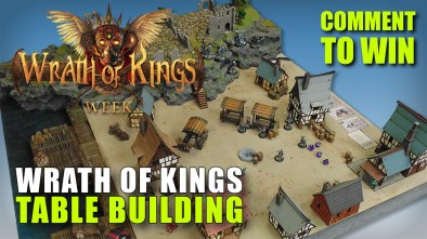 Wrath of Kings Week: Building A Wrath Of Kings Table