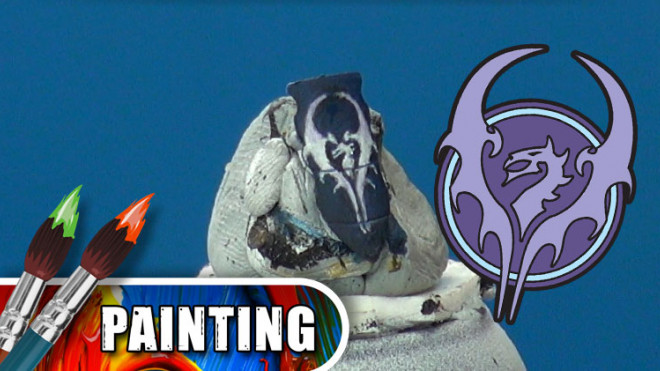 3 Colours Up: Painting Warmachine Emblems – Legion of Everblight