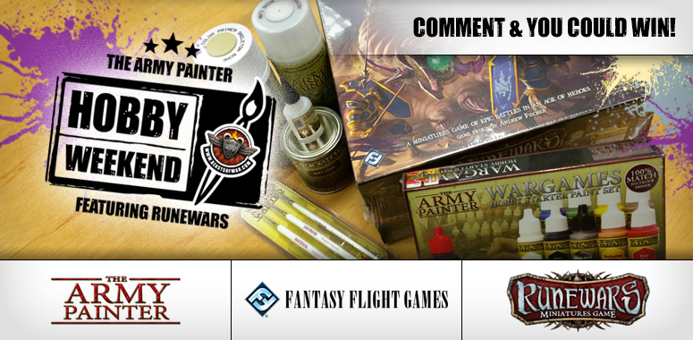 Army Painter RuneWars Hobby Weekend Live Blog – Friday