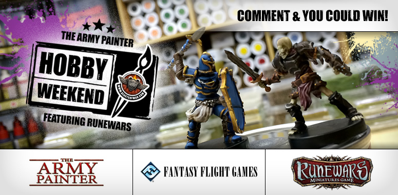 Army Painter RuneWars Hobby Weekend Live Blog – Saturday