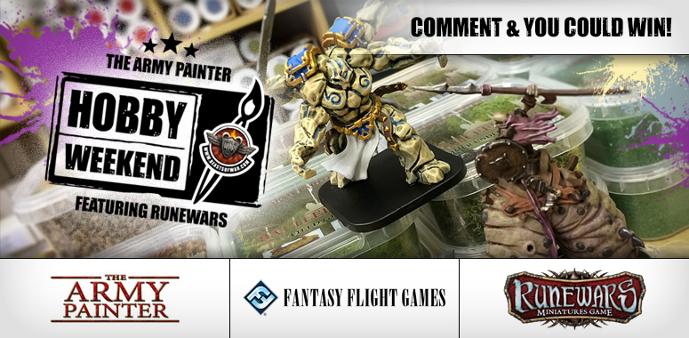 Army Painter RuneWars Hobby Weekend Live Blog – Sunday