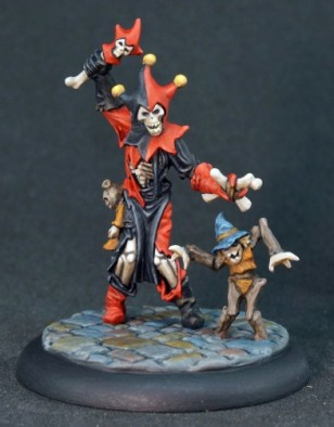 Hecklemeyer The Undead Jester & Marionette Styx #1