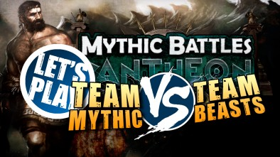 Let's Play: Mythic Battles Pantheon - Team Mythic Vs Team Beasts