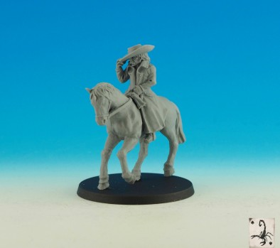 Outlaw Leader Mounted
