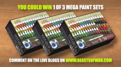 Paint Sets To Be Won