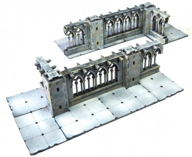 Ruined Gothic Cloister