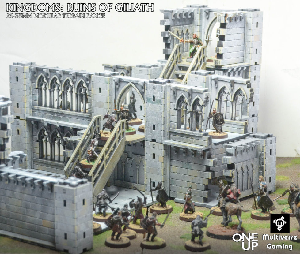 Multiverse Gaming Ruins of Giliath Ruined Gothic Cloister