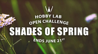 Hobby Lab Open Challenge: Shades Of Spring