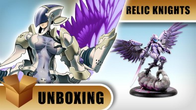 Relic Knights Unboxing: Amelial, Herald of the Void