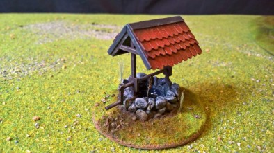 Village Well by soapdodger