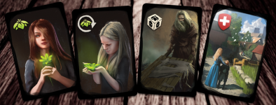 infected cards