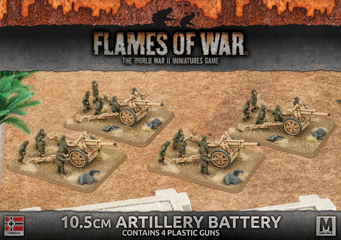 British German Artillery Begins Its Bombardment In Flames Of War