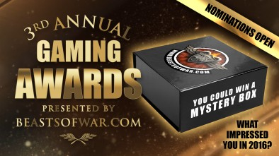 Beasts Of War 3rd Annual Gaming Awards Nominations Open
