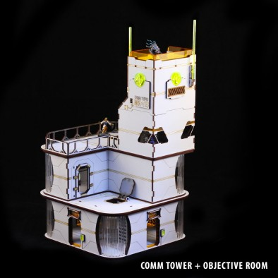 Comm Tower & Objective Room