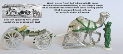 French 8 Pounder Camels