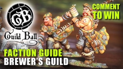 Guild Ball Week: Faction Guide - Brewer's Guild