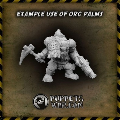 Hand Weapon Orc Example