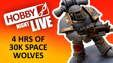 Hobby Night Live 30K Space Wolves