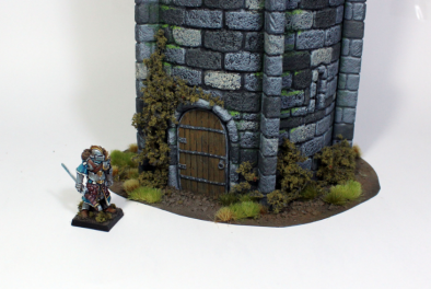 Medieval Tower Entrance