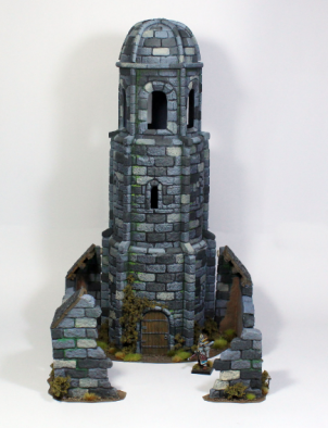 Medieval Tower Front