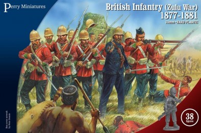 Plastic Zulu War British (Box)