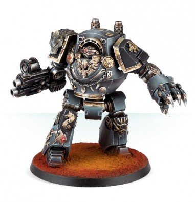 SPACE WOLVES LEGION CONTEMPTOR DREADNOUGHT WITH POWER CLAW AND HEAVY BOLTER