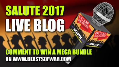 Salute 2017 Live Blog On Beasts of War