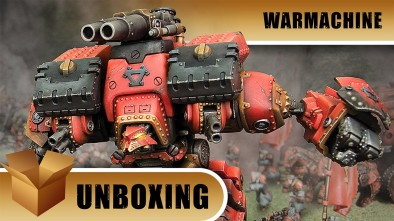 Warmachine Unboxing: Conquest/Victor Colossal Warjack