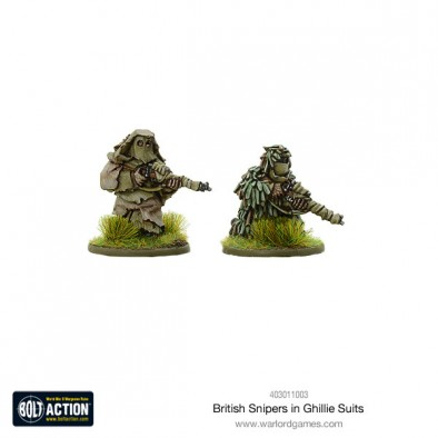 British Shipers In Ghillie Suits