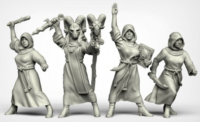 Female Cultists #1