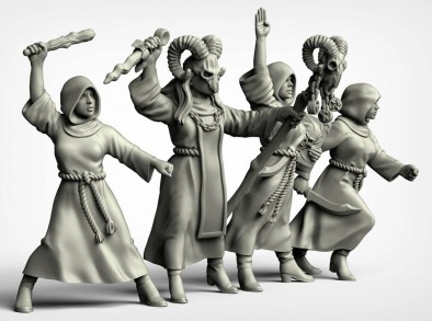Female Cultists #2