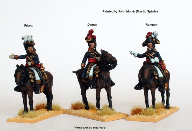 General Friant, Rampon and Damas