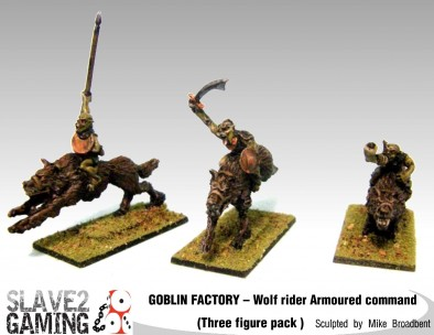Goblin Wolf Riders Armoured Command