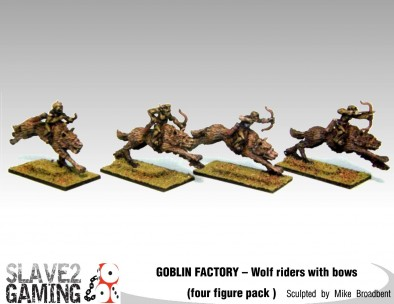 Goblin Wolf Riders With Bows