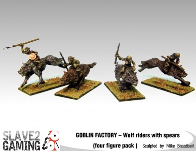 Goblin Wolf Riders With Spears