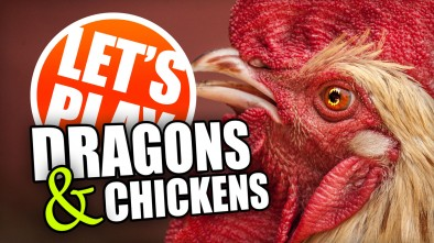 Let's Play: Dragons & Chickens With David Esbry