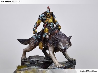 Orc On Wolf #1