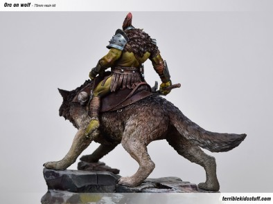 Orc On Wolf #2