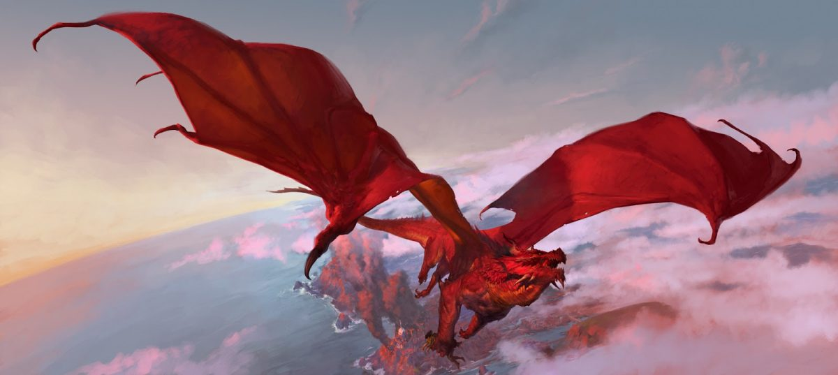 Dnd Red Dragon: A New D&D Dungeon Master Screen Coming In September