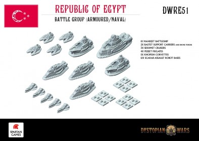 Republic Of Egypt Dystopian Wars