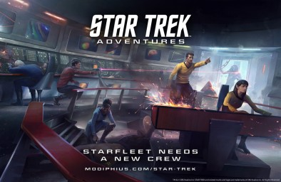 We had a brilliant chat with Chris last year at Gen Con, as he told us all about the plans to bring the Star Trek universe to the tabletop in an RPG where you can explore the galaxy and create your own alternative Star Trek in the iconic IP.