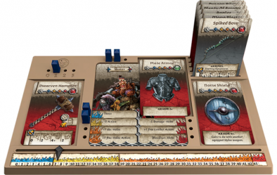 Zombicide character board
