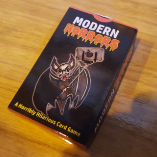 Checking Out Modern Horrors - A Quirky Card Game!