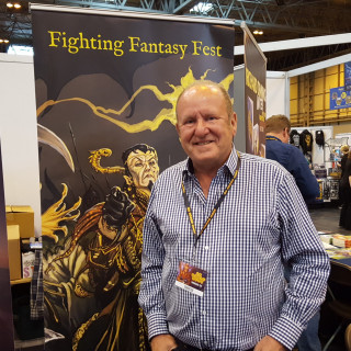 Ian Livingstone At UK Games Expo 2017