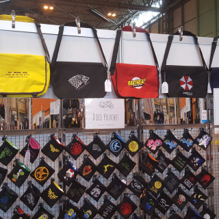 Talking Bags & Accessories With Cosy Dice!