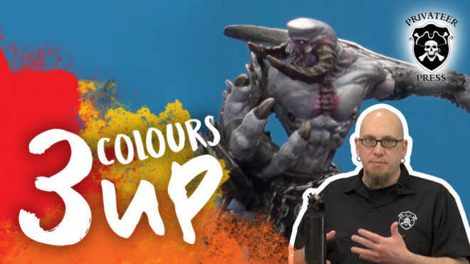 3 Colours Up: Painting Fleshy Bone With Dallas