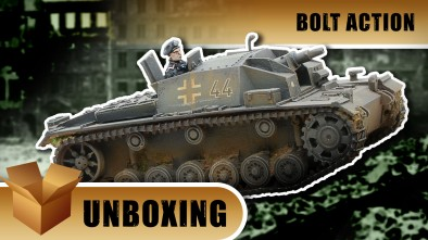 Bolt Action Unboxing: StuG III AUSF D